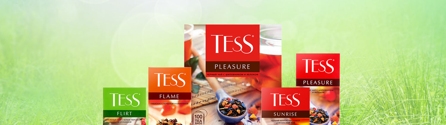 TESS, une collection contemporaine de thés et d'infusions