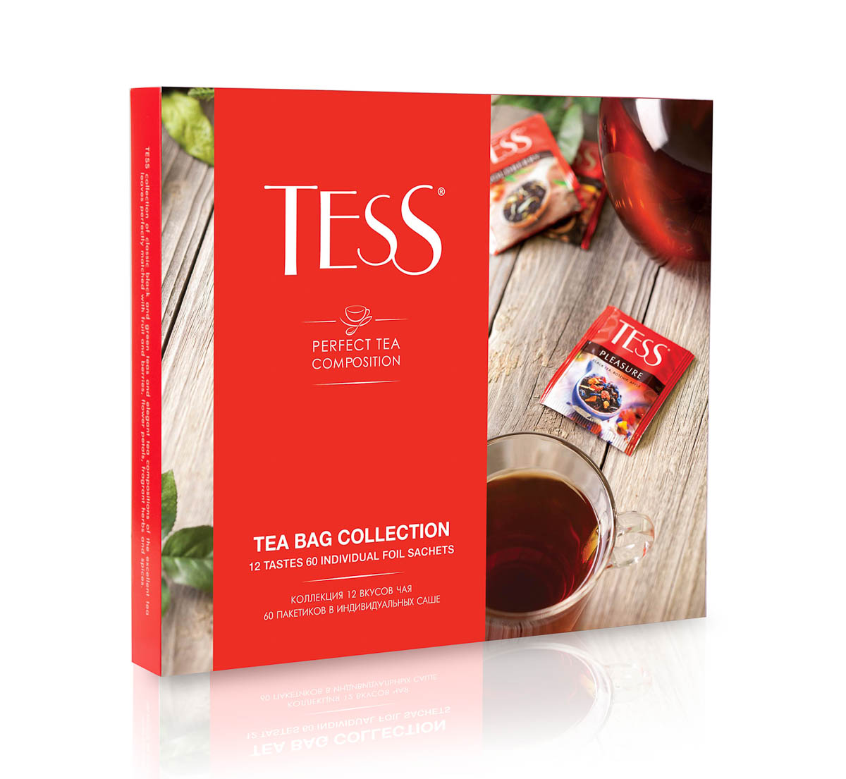 Tess, cofffret d'assortiment de thés