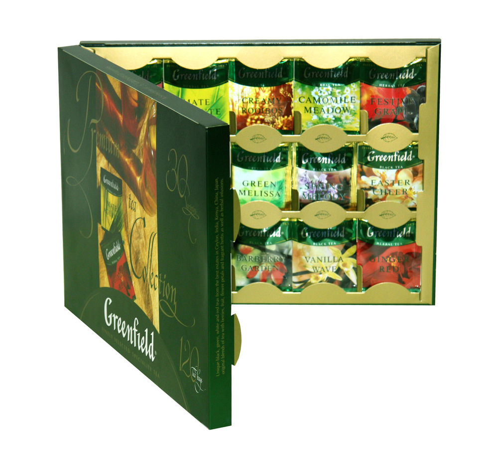 Greenfield - assortiment de sachets